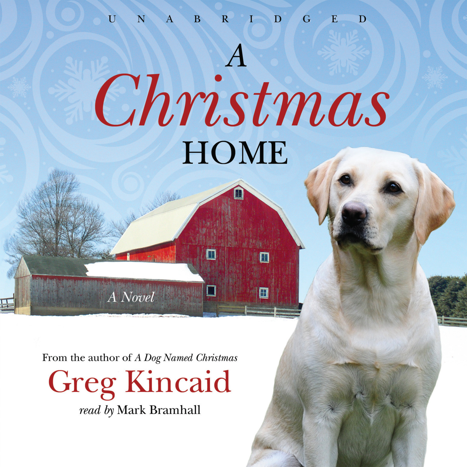 Printable A Christmas Home Audiobook Cover Art