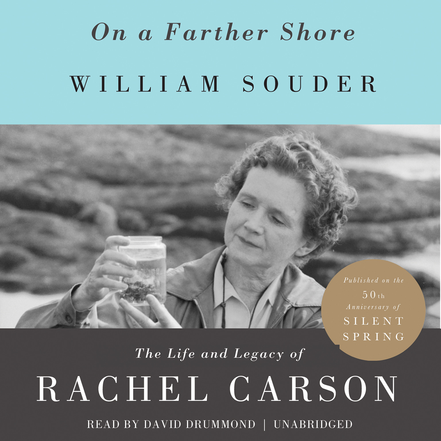 Printable On a Farther Shore: The Life and Legacy of Rachel Carson Audiobook Cover Art