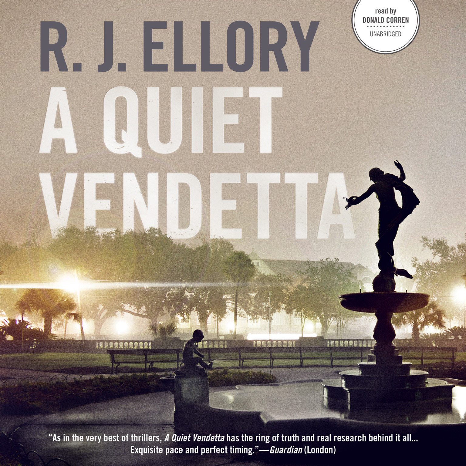 Printable A Quiet Vendetta Audiobook Cover Art