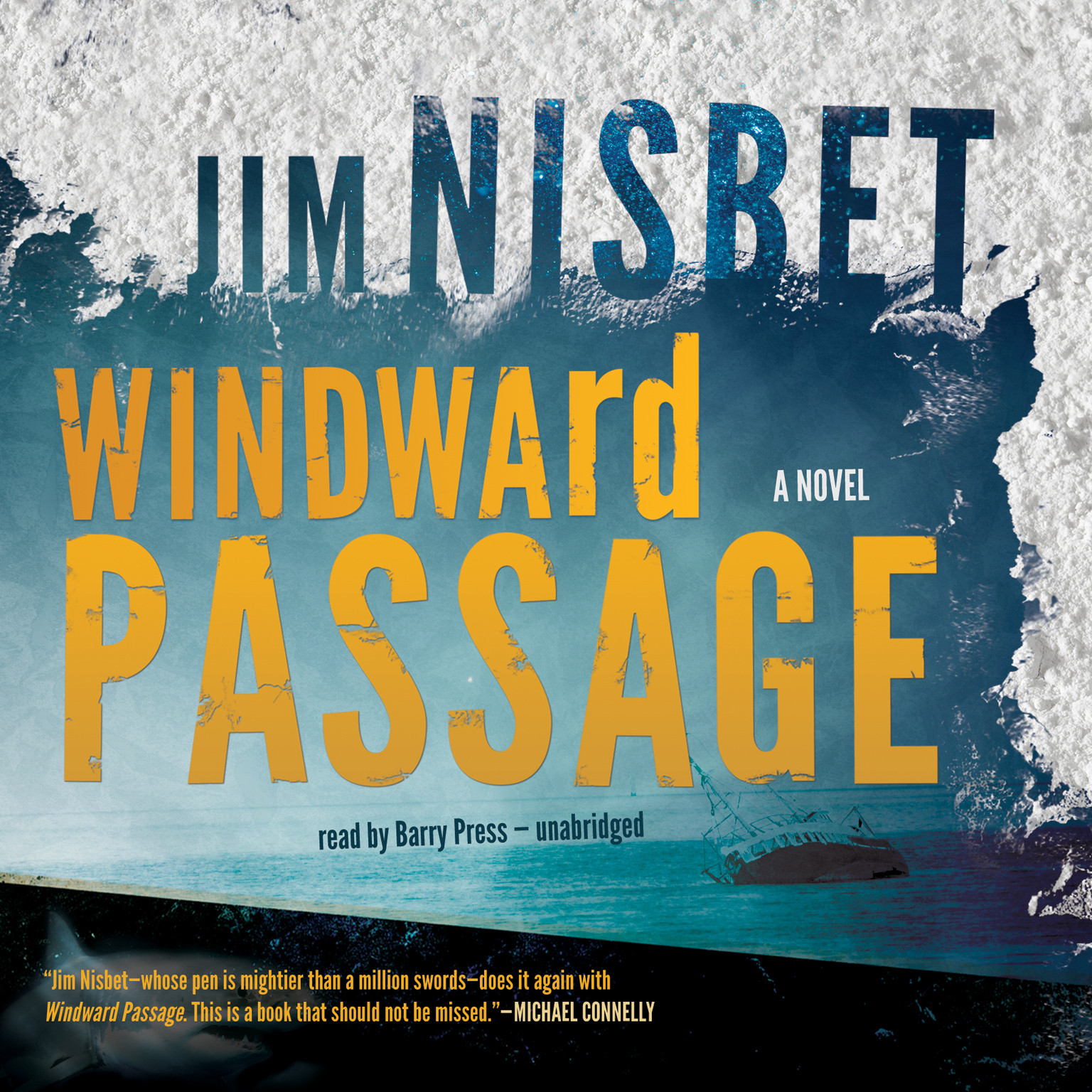Printable Windward Passage Audiobook Cover Art