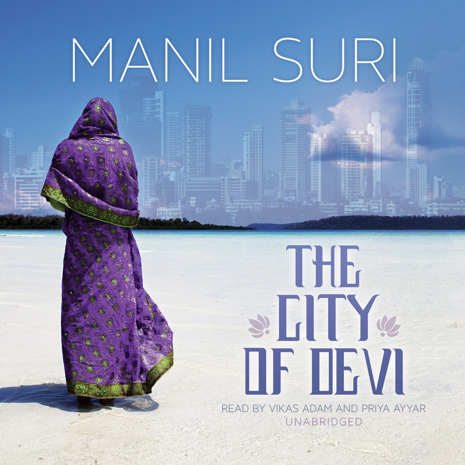 Printable The City of Devi Audiobook Cover Art