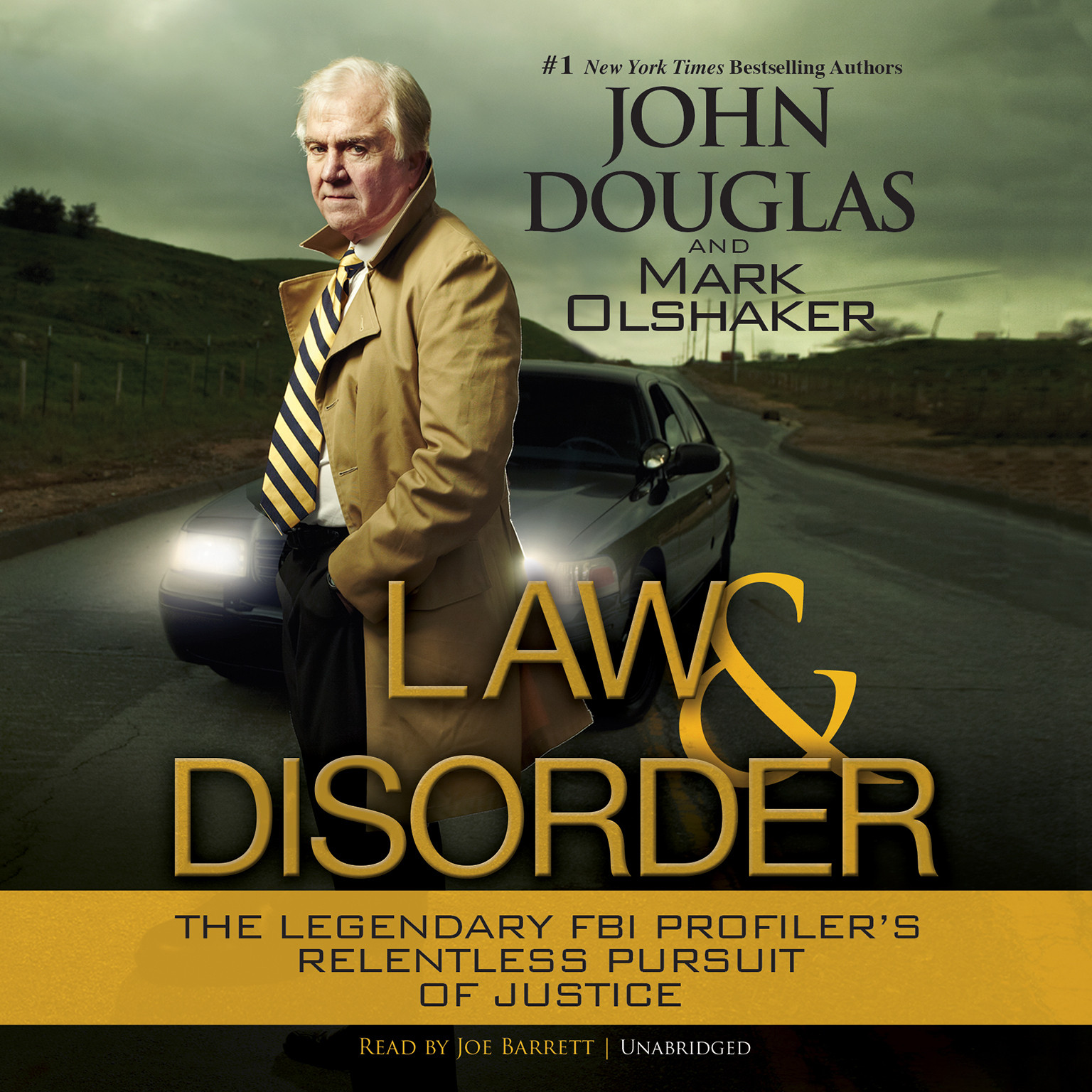 Printable Law and Disorder Audiobook Cover Art