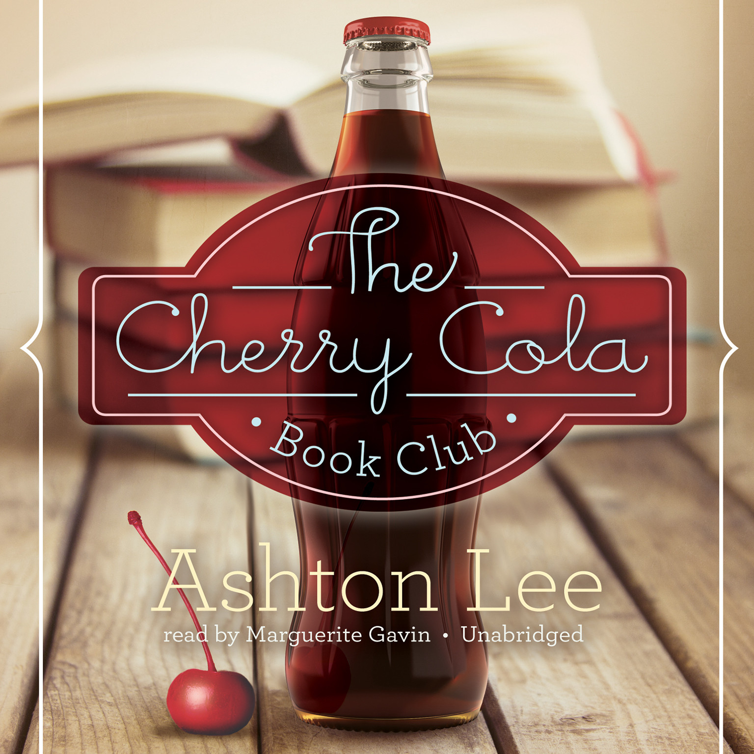 Printable The Cherry Cola Book Club Audiobook Cover Art
