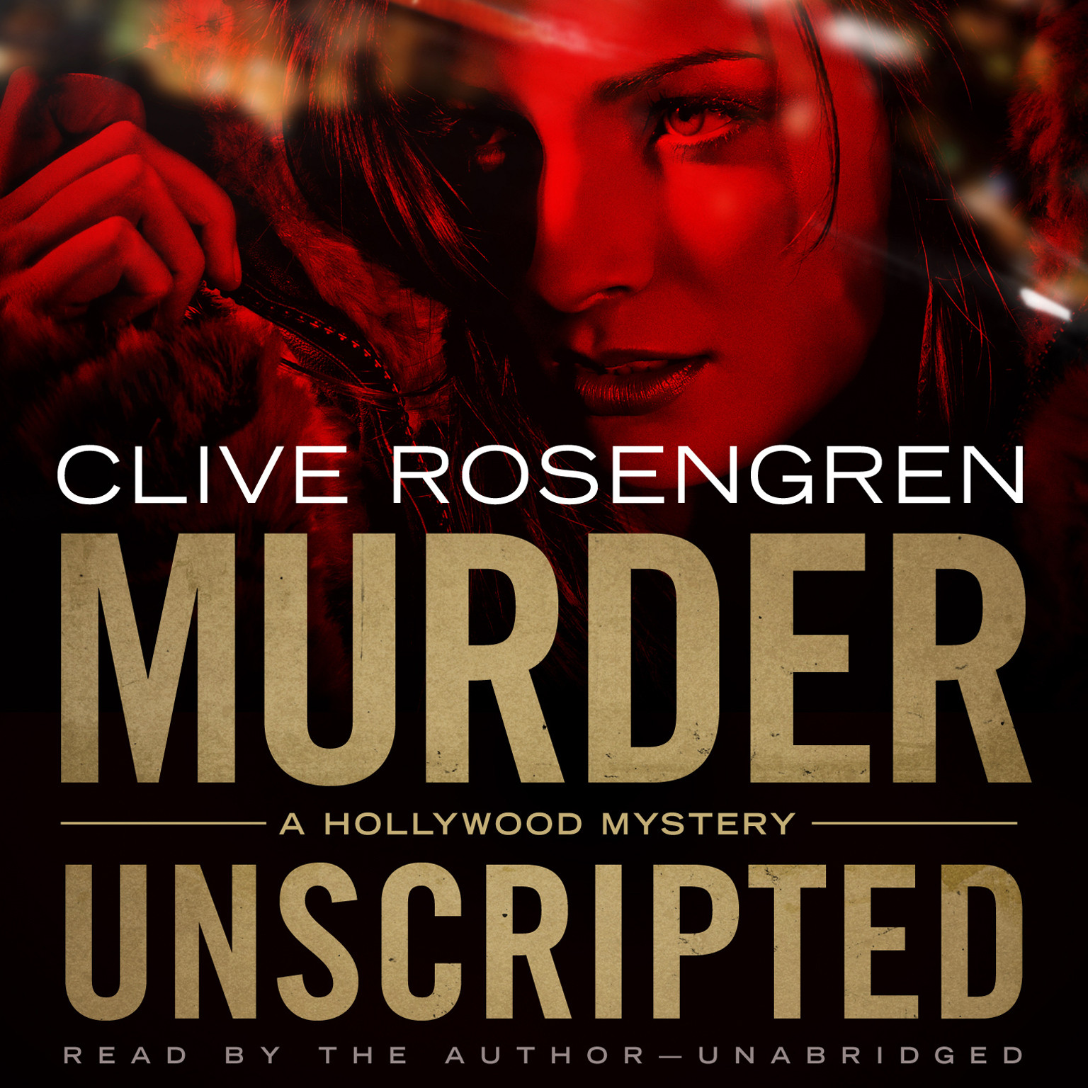 Printable Murder Unscripted: A Hollywood Mystery Audiobook Cover Art