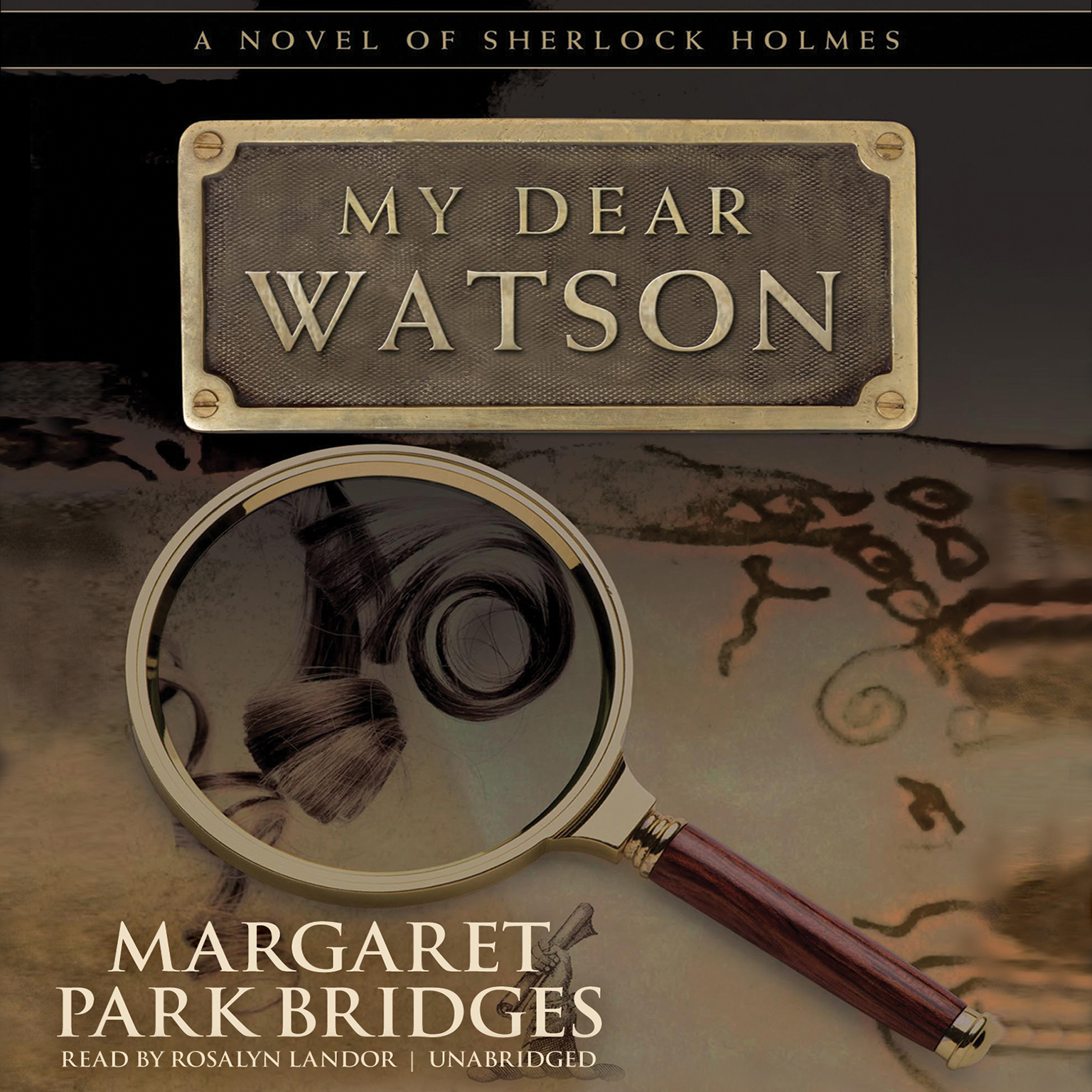 Printable My Dear Watson Audiobook Cover Art