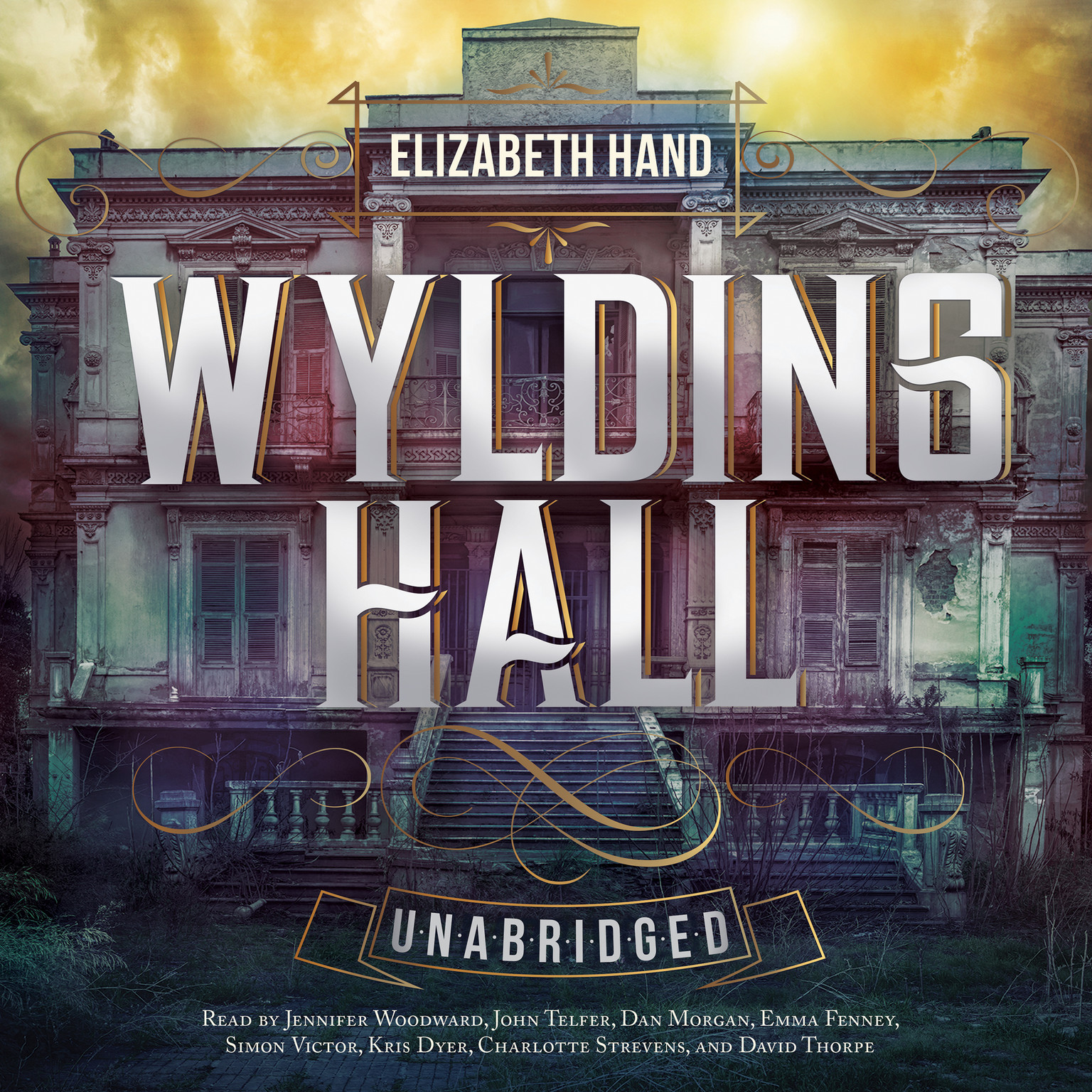 Printable Wylding Hall Audiobook Cover Art