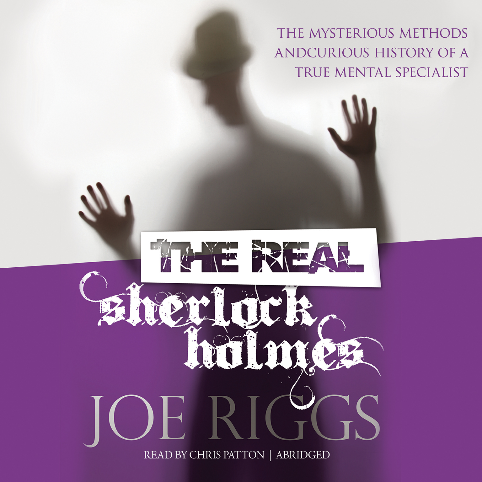 Printable The Real Sherlock Holmes: The Mysterious Methods and Curious History of a True Mental Specialist Audiobook Cover Art