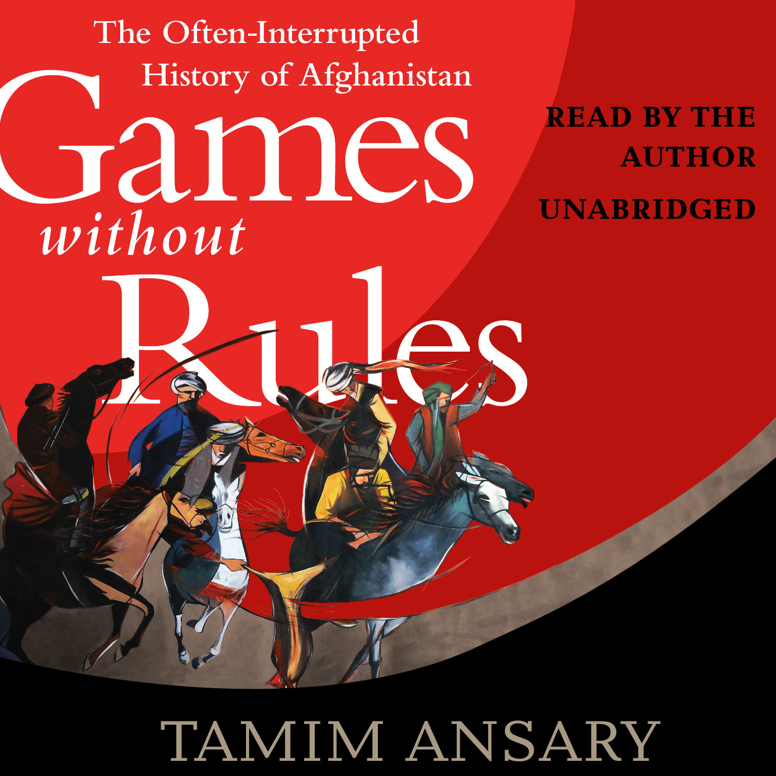 Printable Games without Rules: The Often-Interrupted History of Afghanistan Audiobook Cover Art