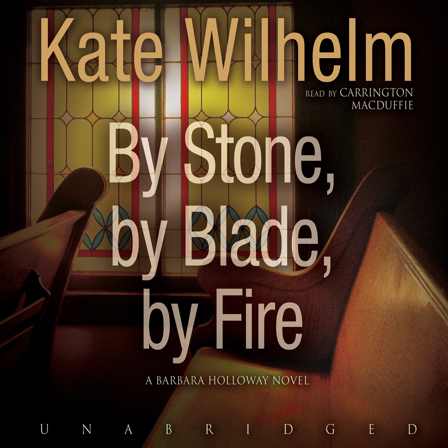 Printable By Stone, by Blade, by Fire Audiobook Cover Art