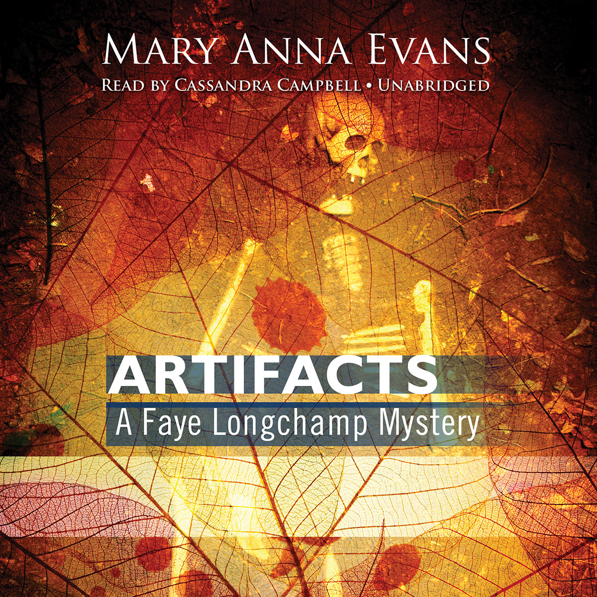 Printable Artifacts: A Faye Longchamp Mystery Audiobook Cover Art