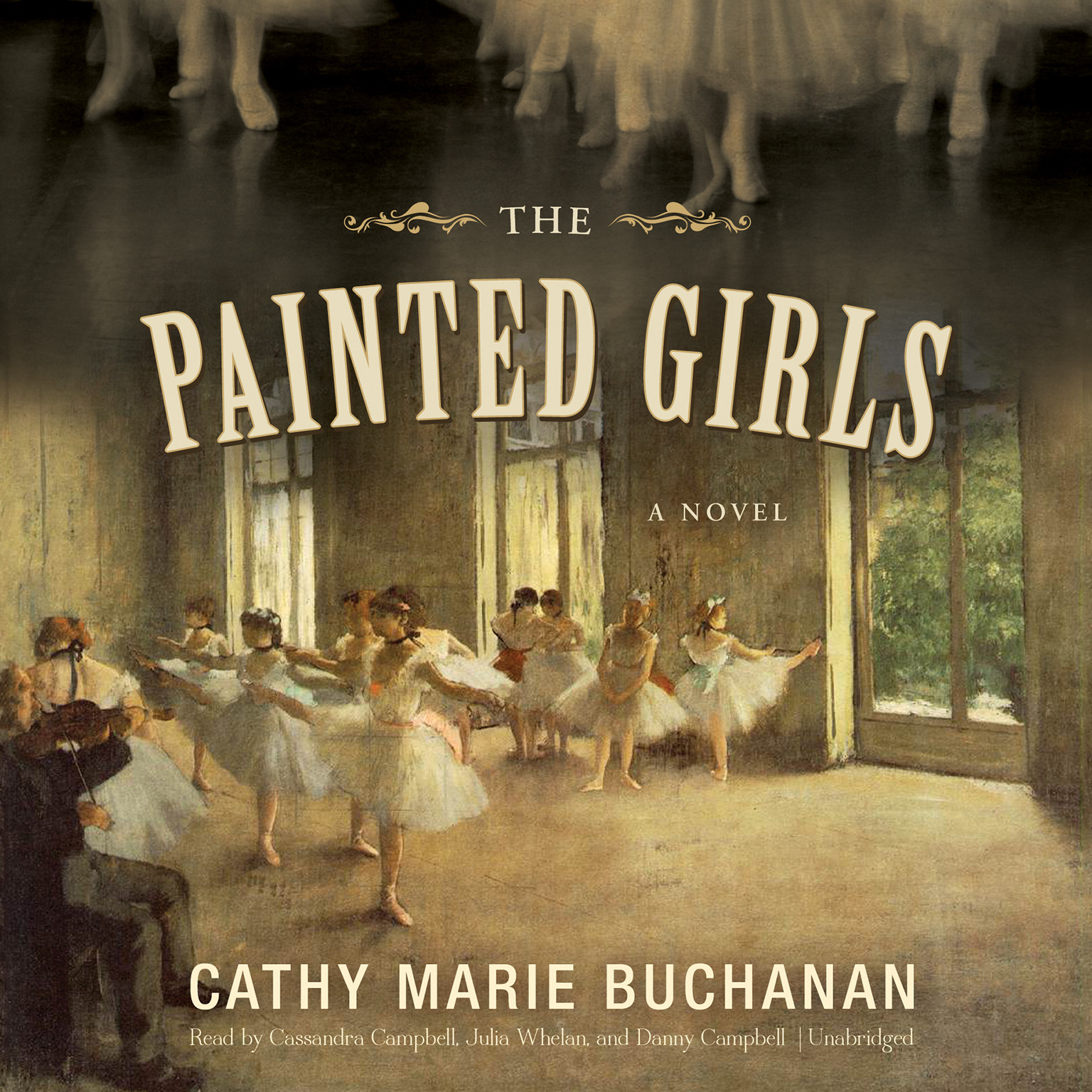 Printable The Painted Girls Audiobook Cover Art