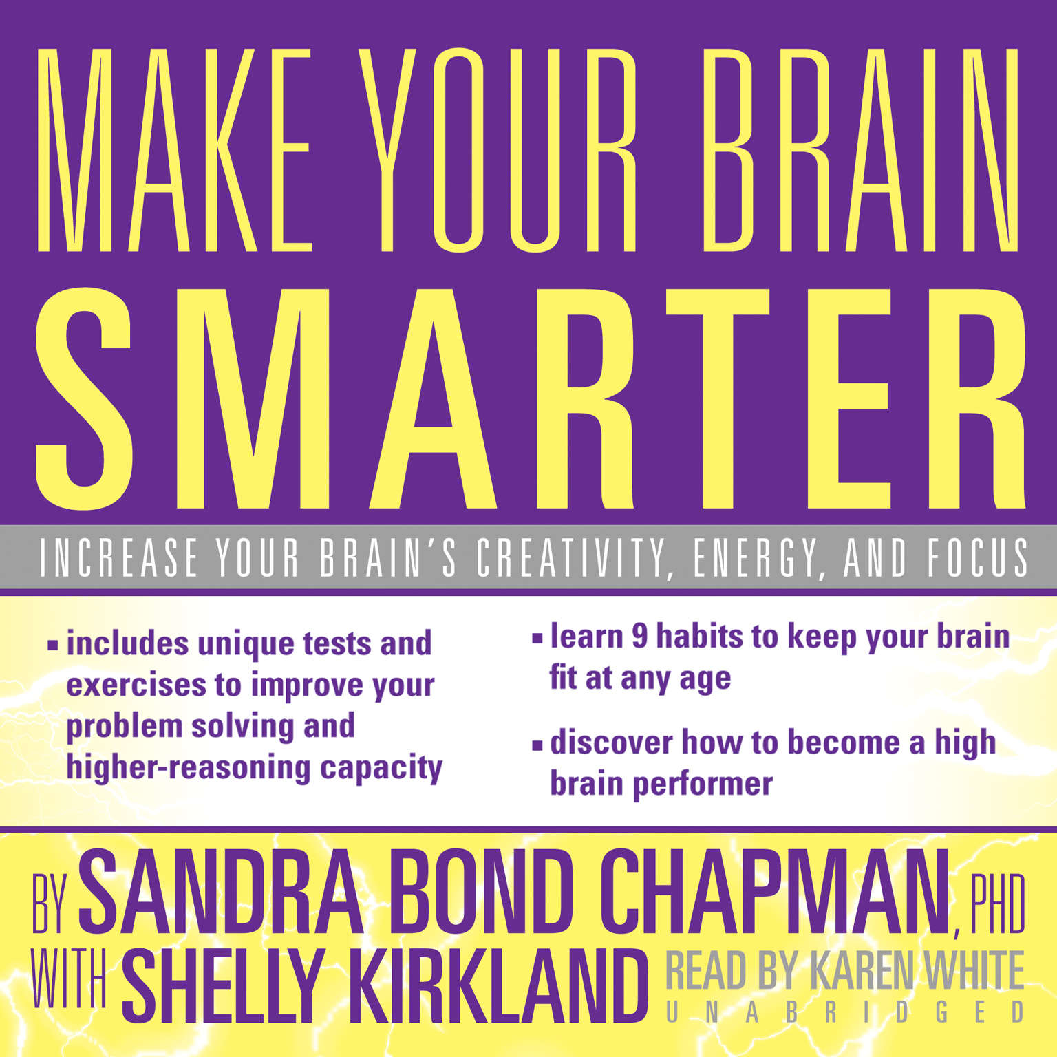 Printable Make Your Brain Smarter: Increase Your Brain's Creativity, Energy, and Focus Audiobook Cover Art
