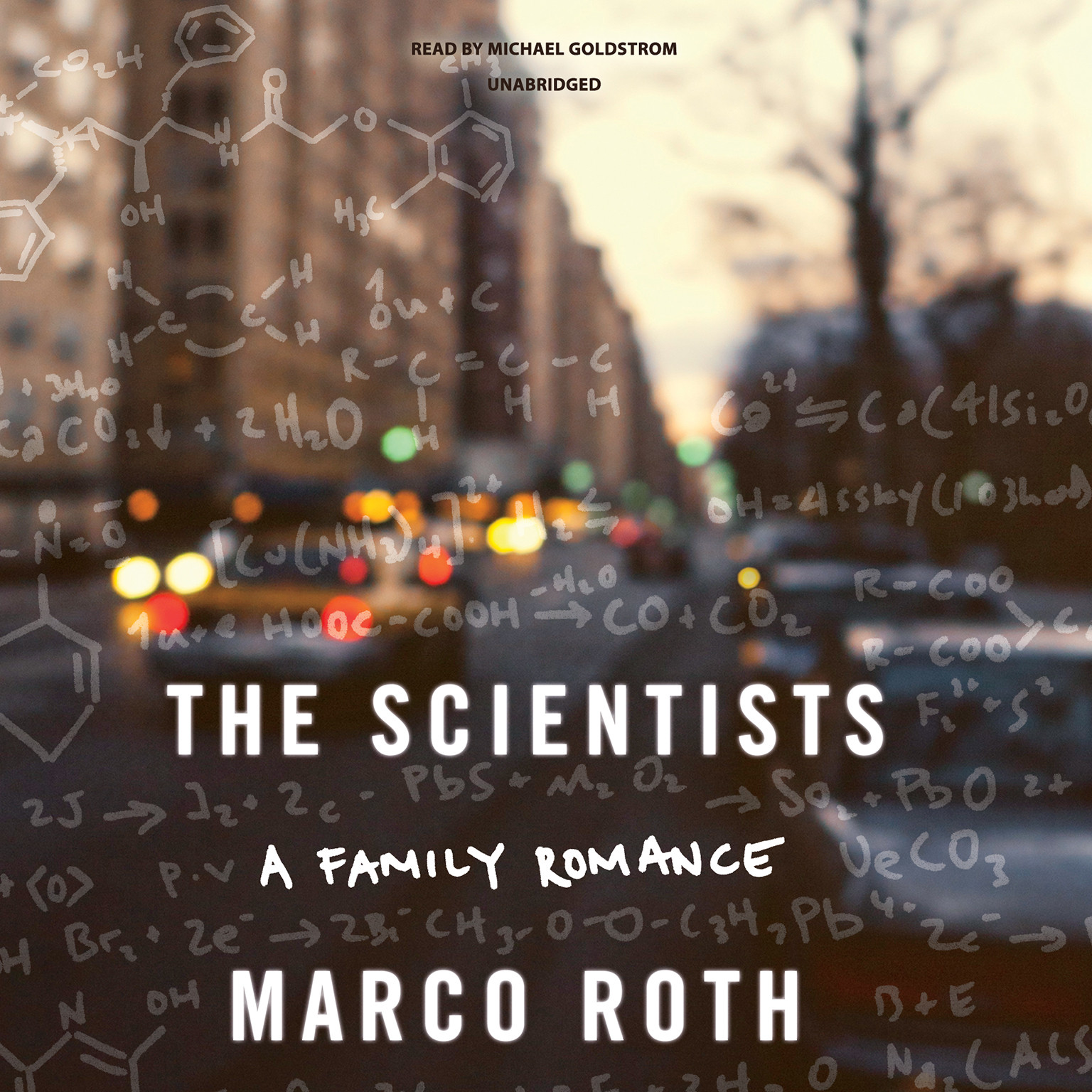 Printable The Scientists: A Family Romance Audiobook Cover Art