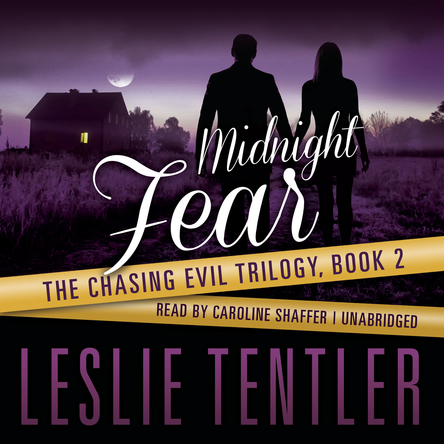 Printable Midnight Fear Audiobook Cover Art