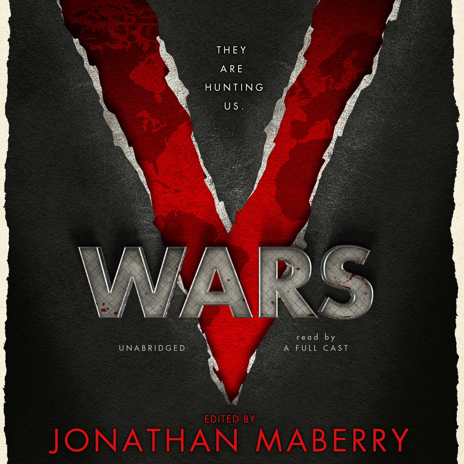 Printable V Wars: A Chronicle of the Vampire Wars Audiobook Cover Art