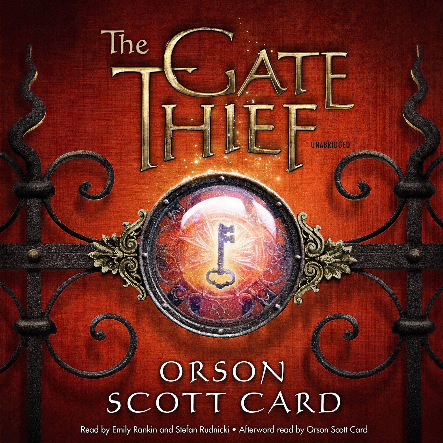 Printable The Gate Thief Audiobook Cover Art