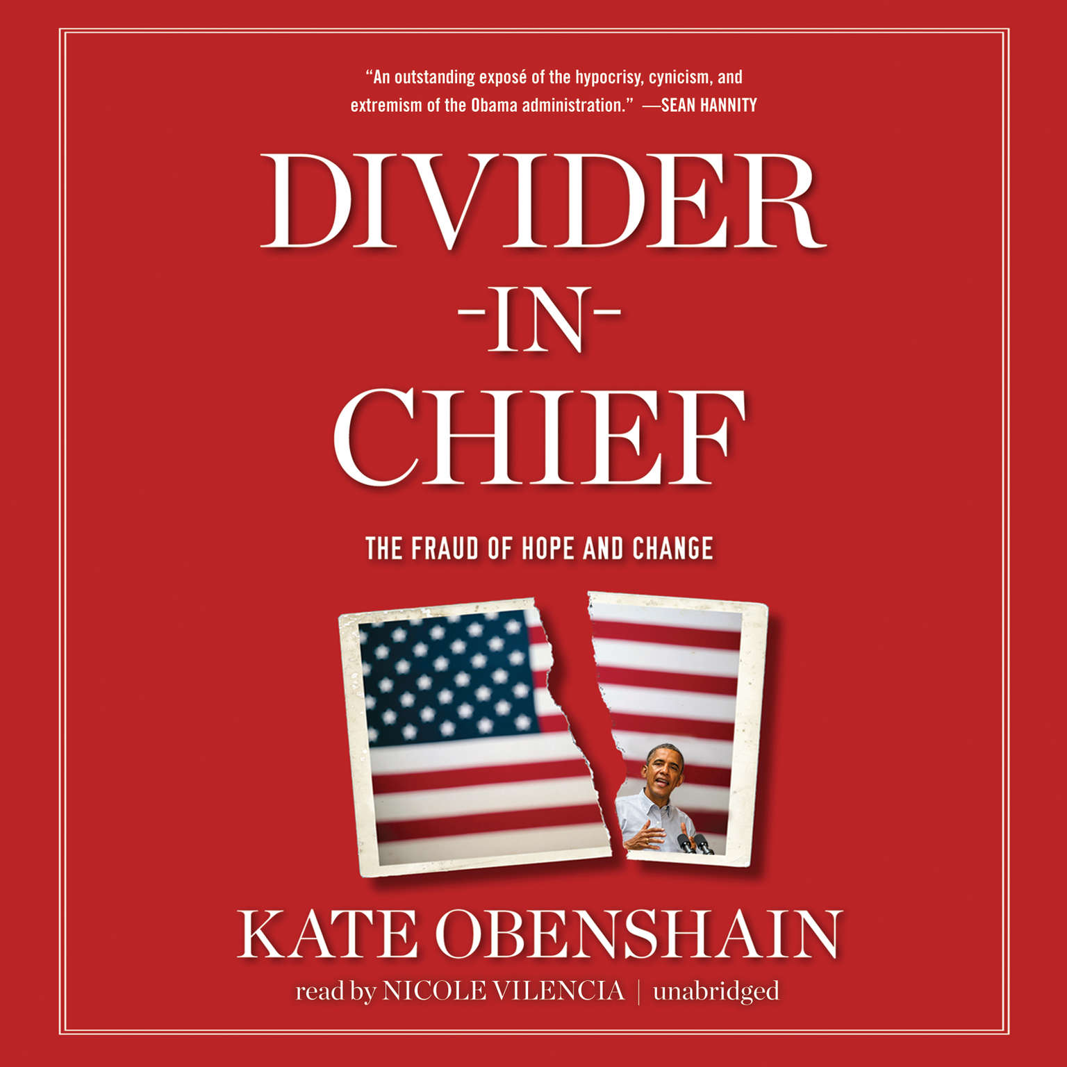 Printable Divider-in-Chief: The Fraud of Hope and Change Audiobook Cover Art