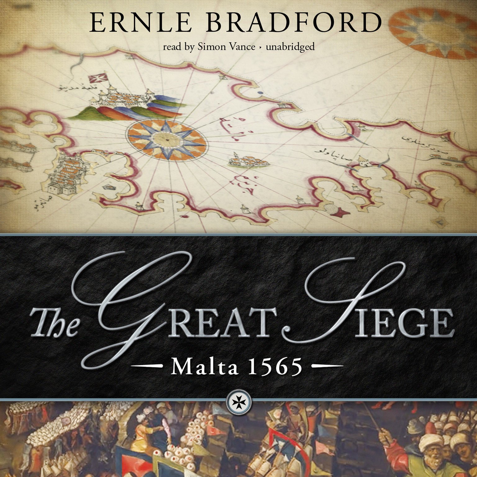 Printable The Great Siege: Malta 1565 Audiobook Cover Art