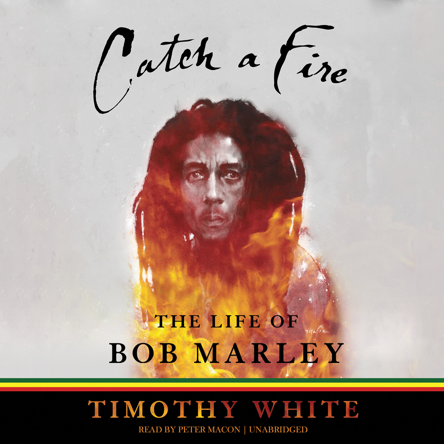 Printable Catch a Fire: The Life of Bob Marley Audiobook Cover Art