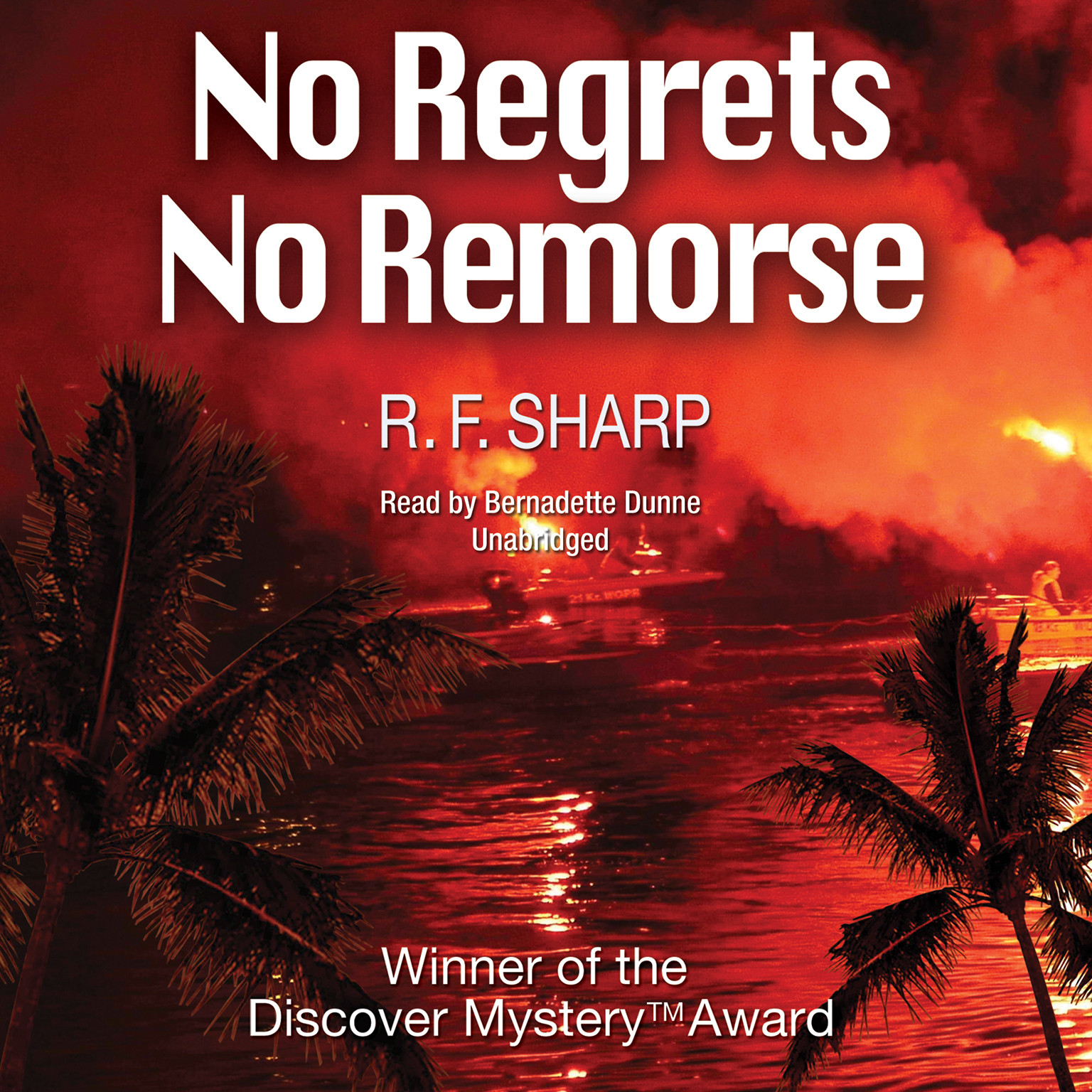 Printable No Regrets, No Remorse: A Sydney Simone Mystery Audiobook Cover Art