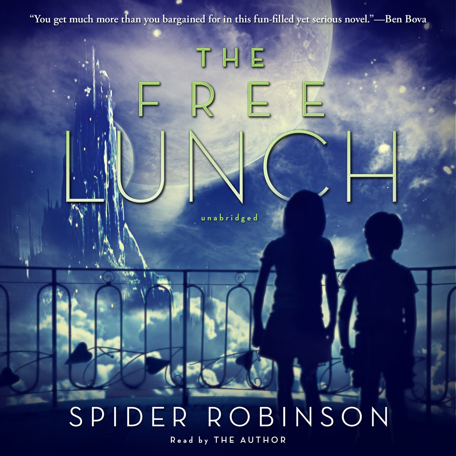 Printable The Free Lunch Audiobook Cover Art