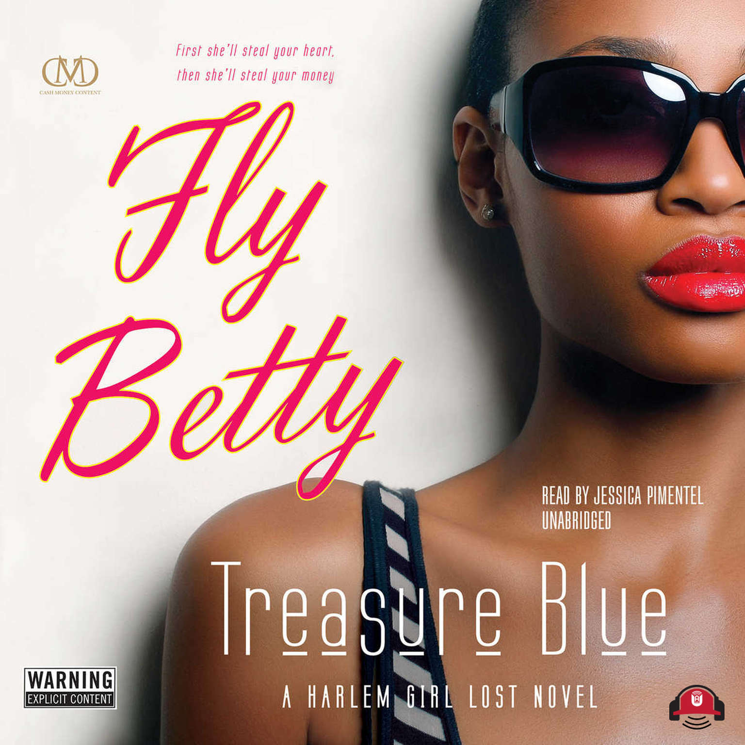 Printable Fly Betty Audiobook Cover Art
