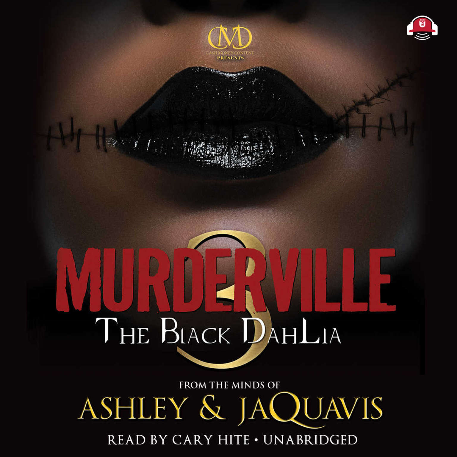 Printable Murderville 3: The Black Dahlia Audiobook Cover Art