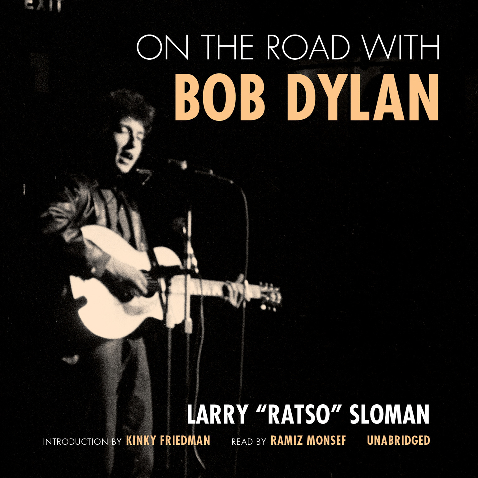 Printable On the Road with Bob Dylan Audiobook Cover Art