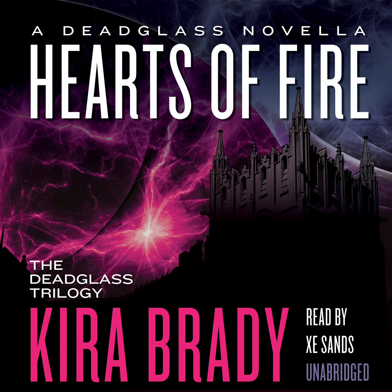 Printable Hearts of Fire: A Deadglass Novella Audiobook Cover Art