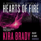 Hearts of Fire: A Deadglass Novella, by Kira Brady