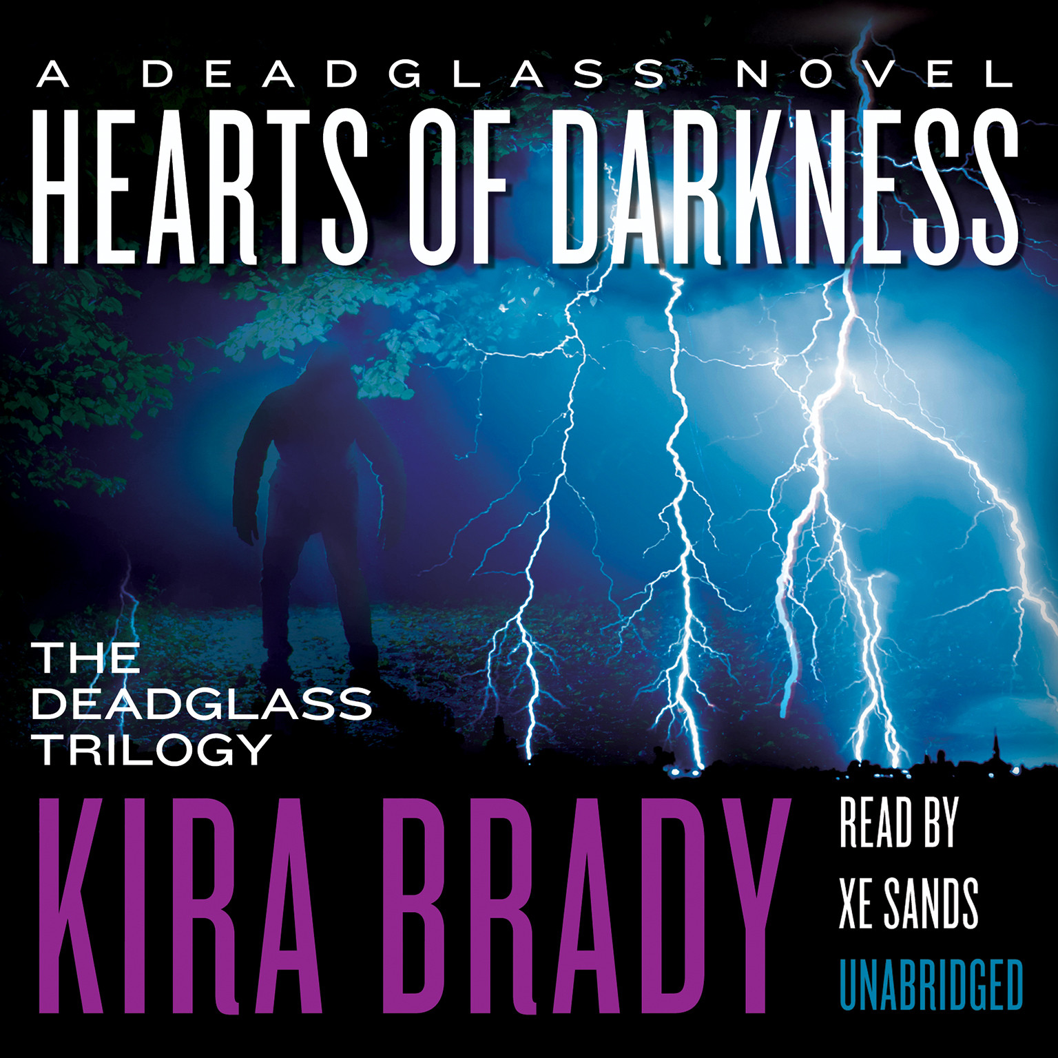 Printable Hearts of Darkness: A Deadglass Novel Audiobook Cover Art