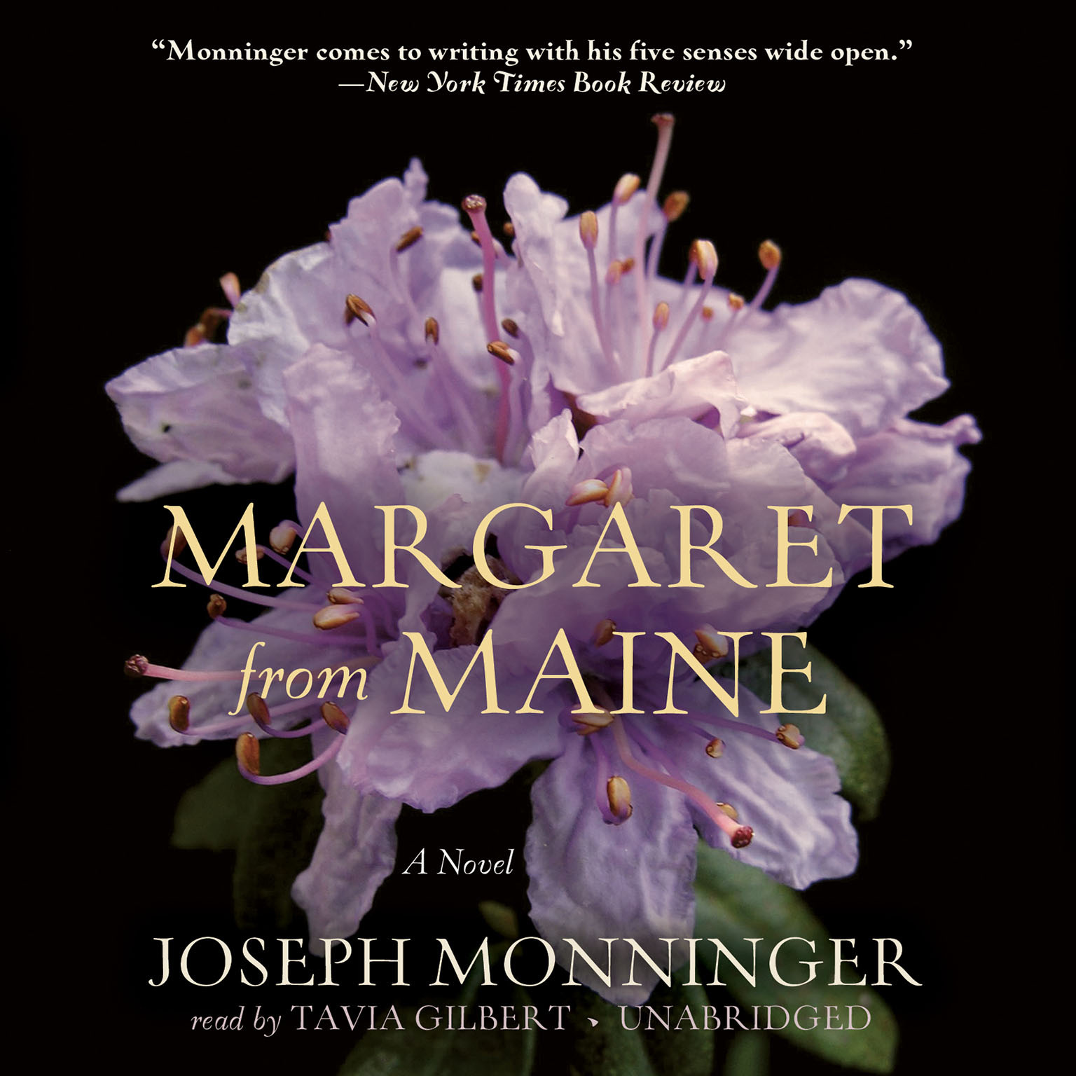 Printable Margaret from Maine: A Novel Audiobook Cover Art