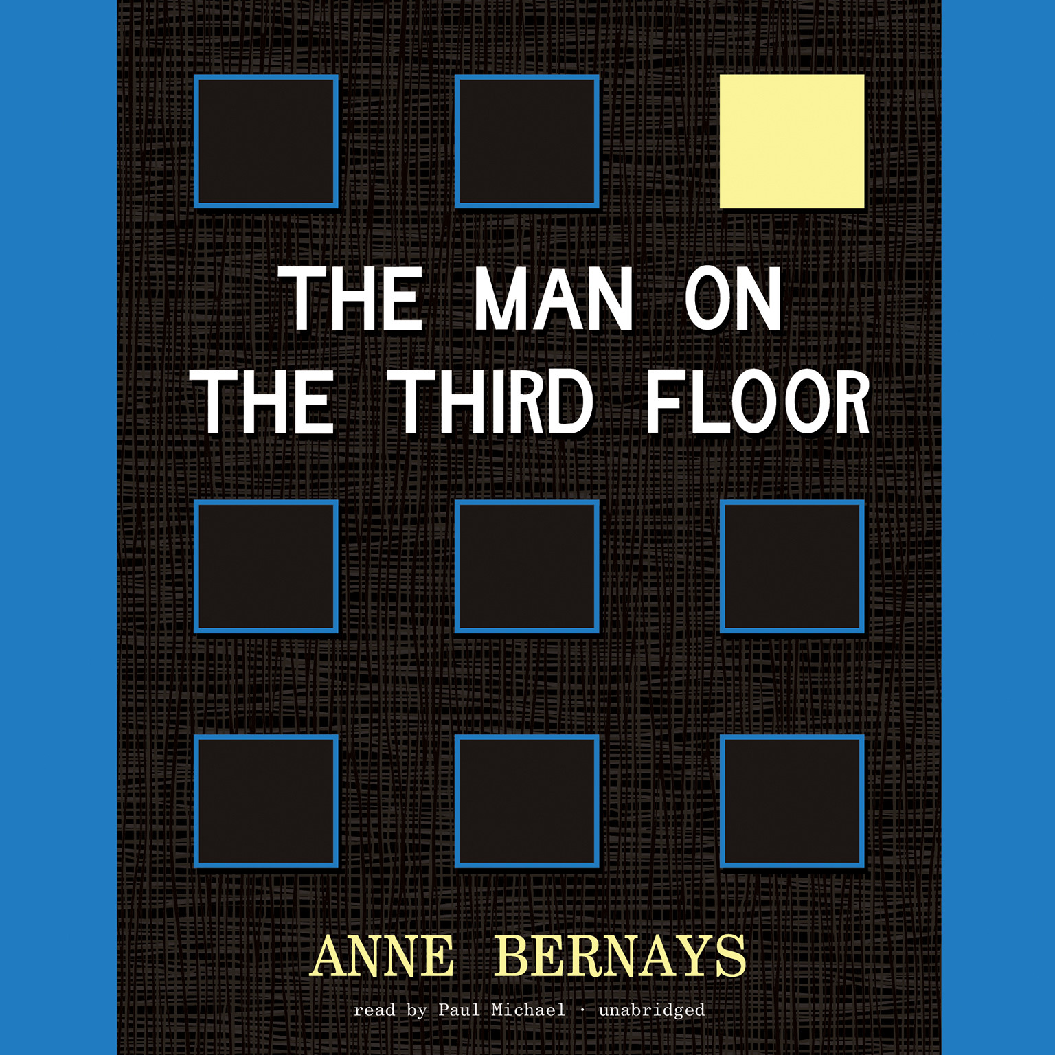 Printable The Man on the Third Floor Audiobook Cover Art