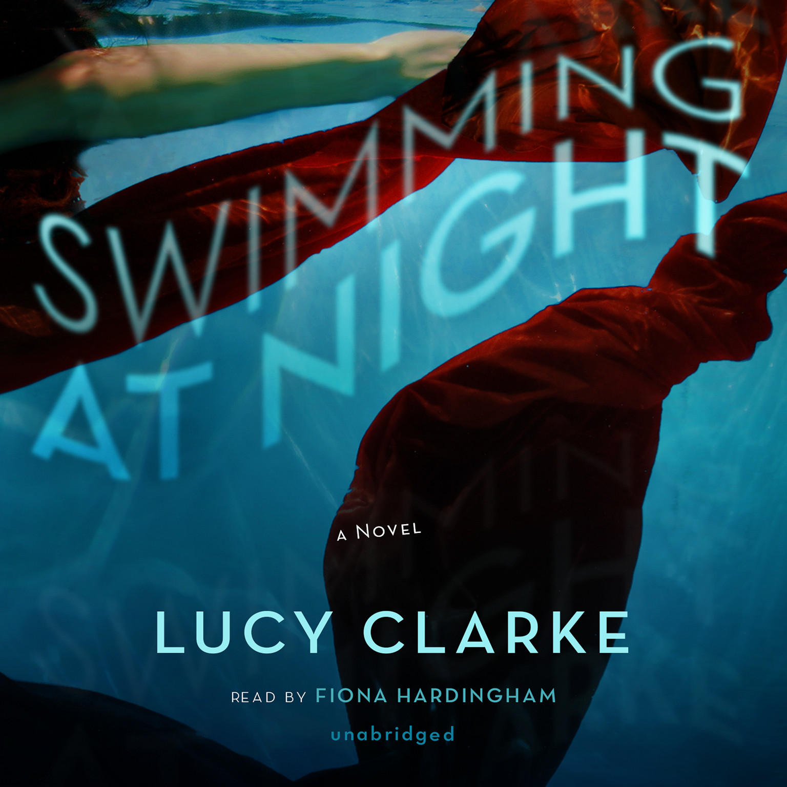 Printable Swimming at Night Audiobook Cover Art