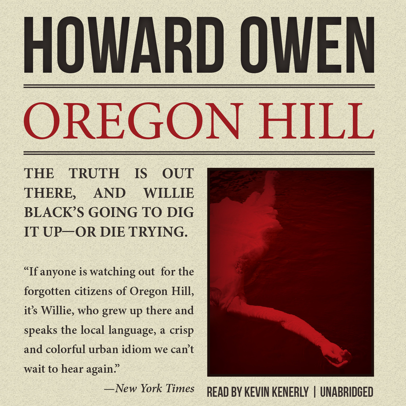 Printable Oregon Hill Audiobook Cover Art