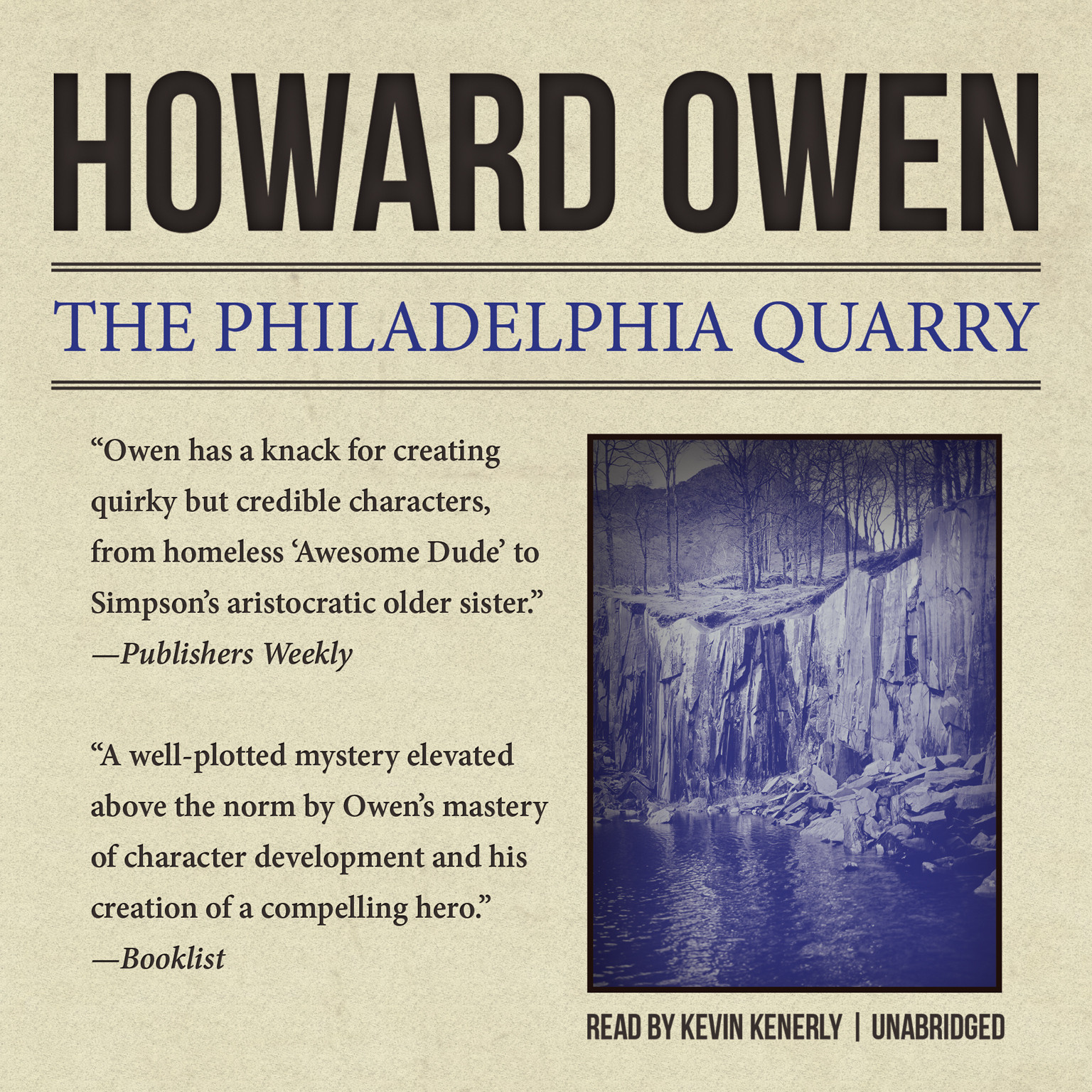 Printable The Philadelphia Quarry Audiobook Cover Art