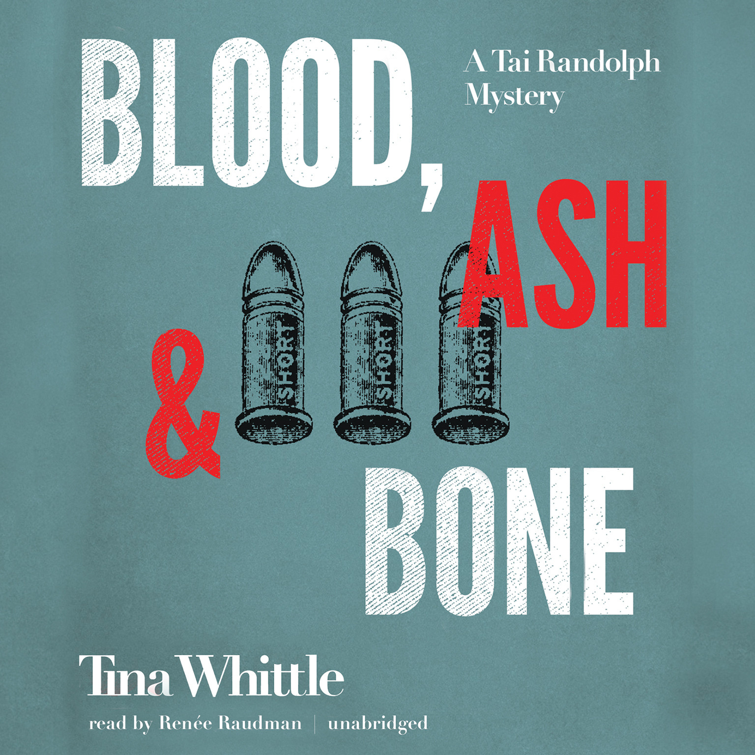 Printable Blood, Ash, and Bone: A Tai Randolph Mystery Audiobook Cover Art