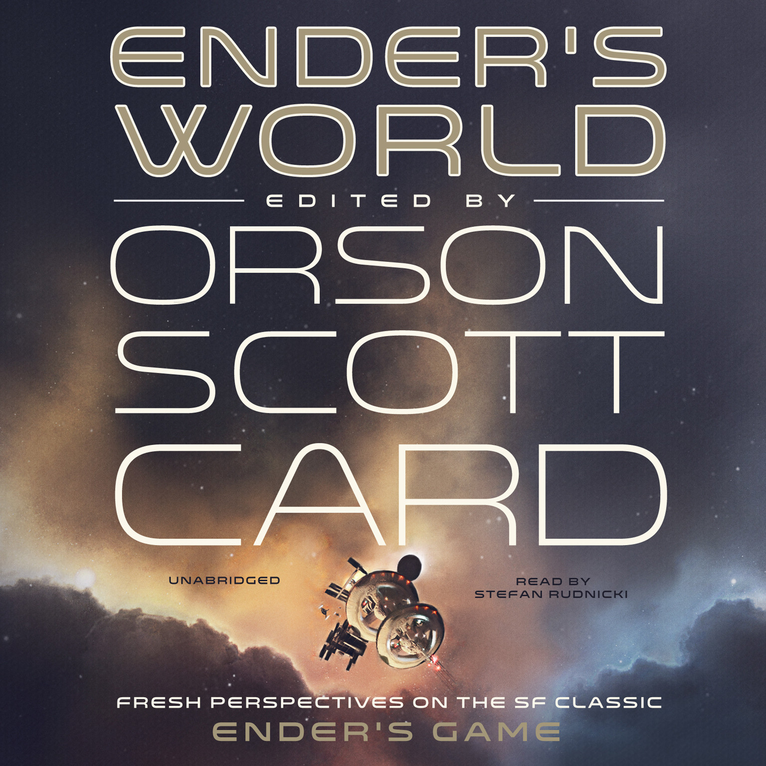 Printable Ender's World: Fresh Perspectives on the SF Classic Ender's Game  Audiobook Cover Art