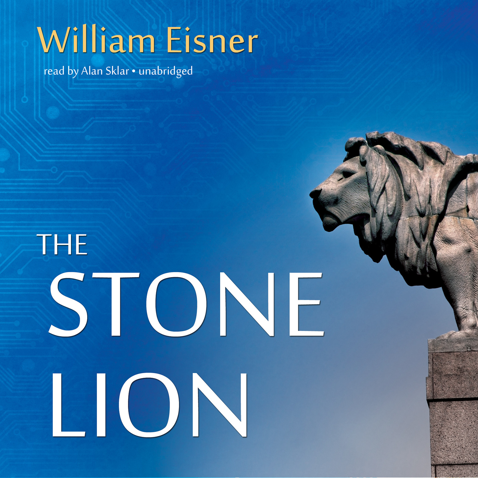 Printable The Stone Lion Audiobook Cover Art