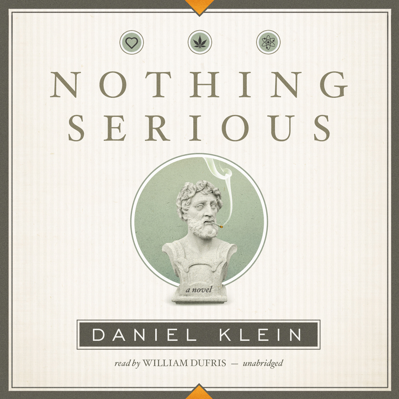 Printable Nothing Serious: A Novel Audiobook Cover Art