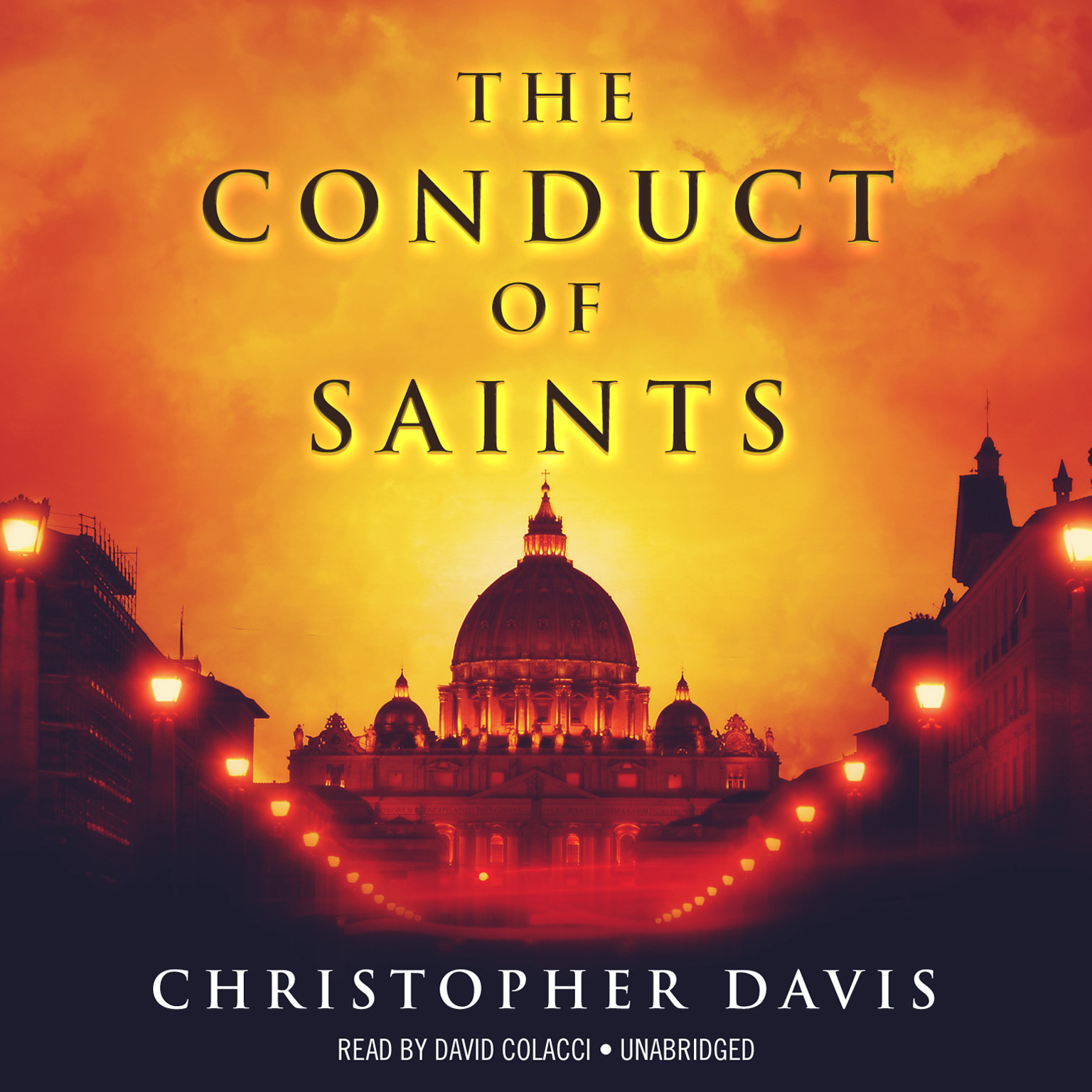 Printable The Conduct of Saints Audiobook Cover Art
