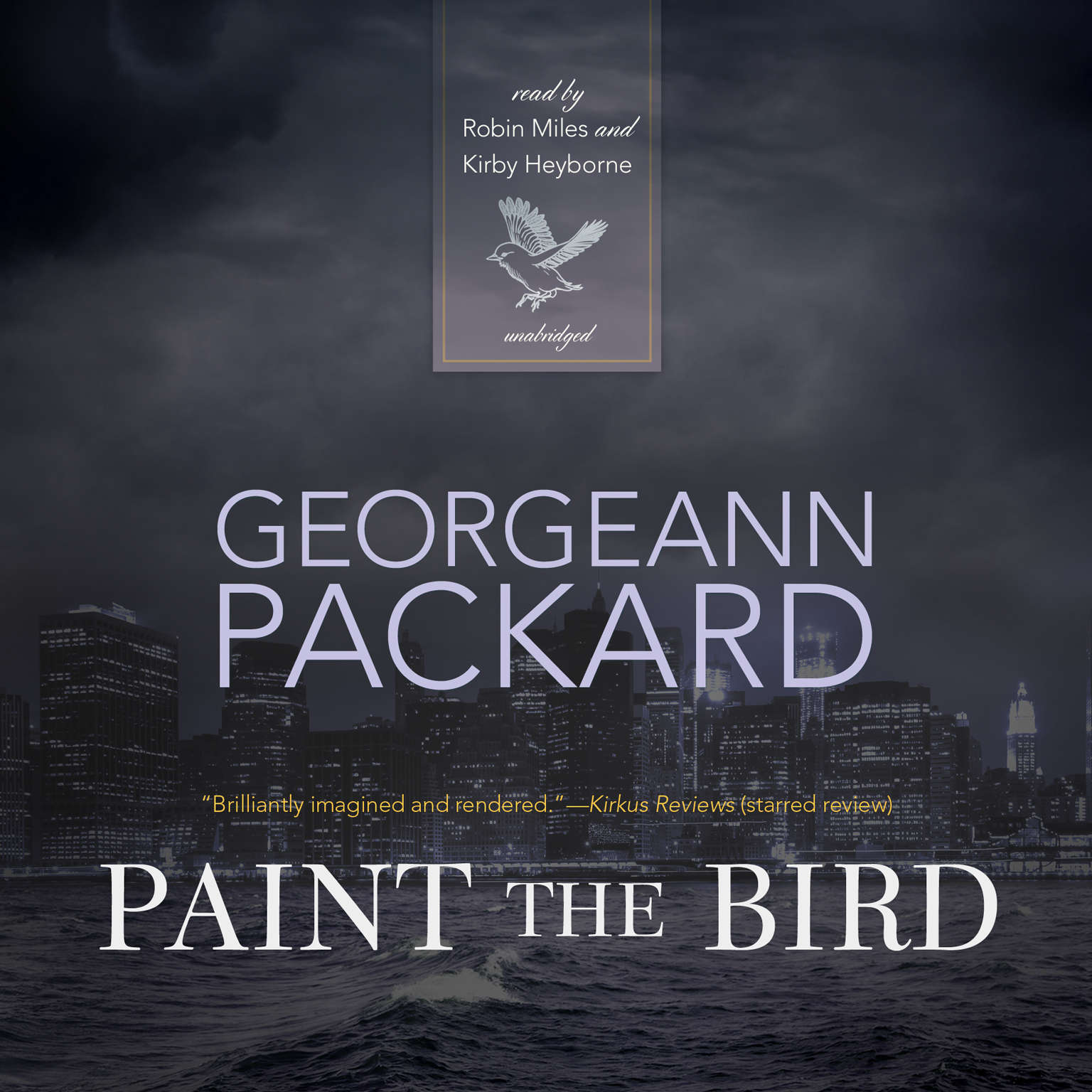 Printable Paint the Bird Audiobook Cover Art