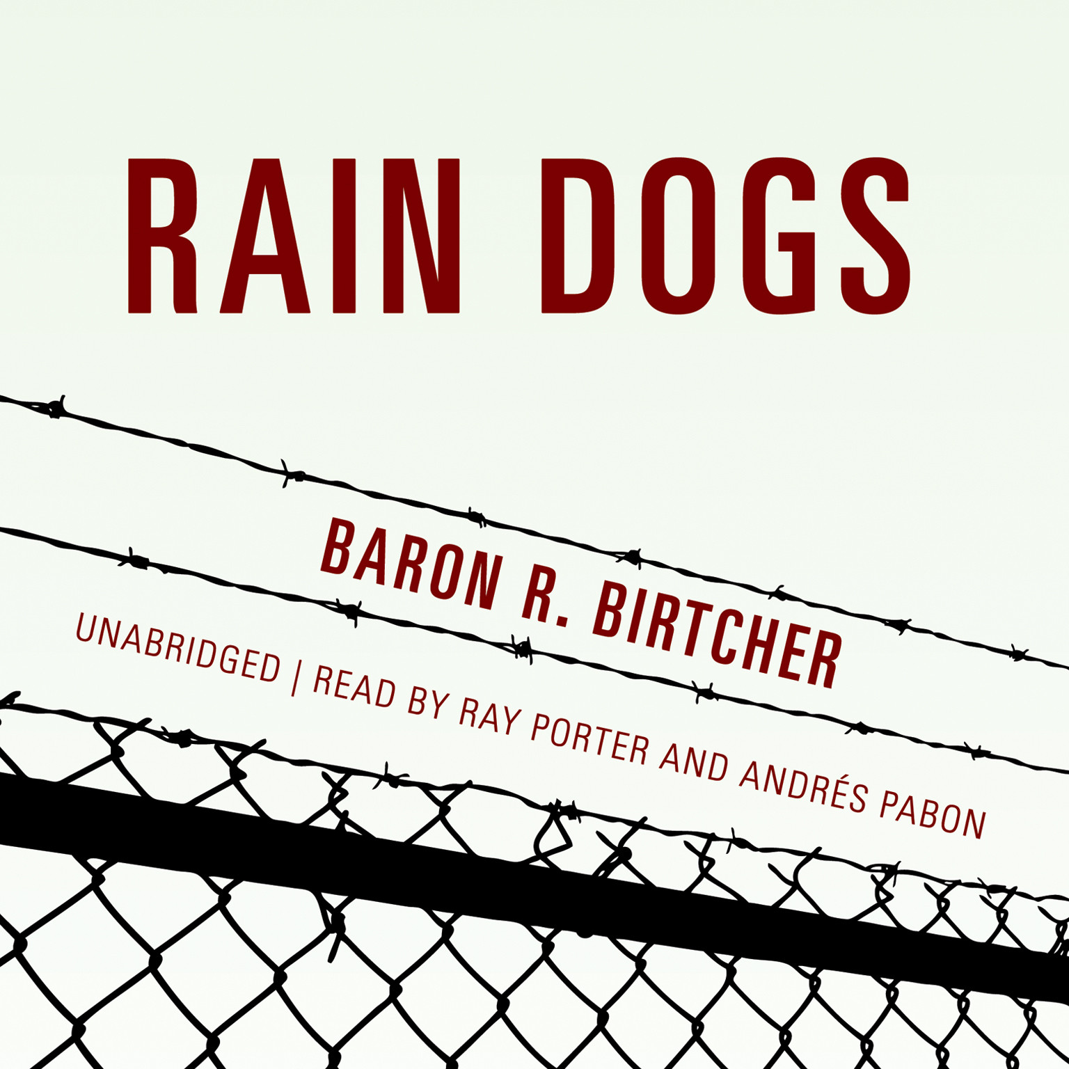 Printable Rain Dogs Audiobook Cover Art