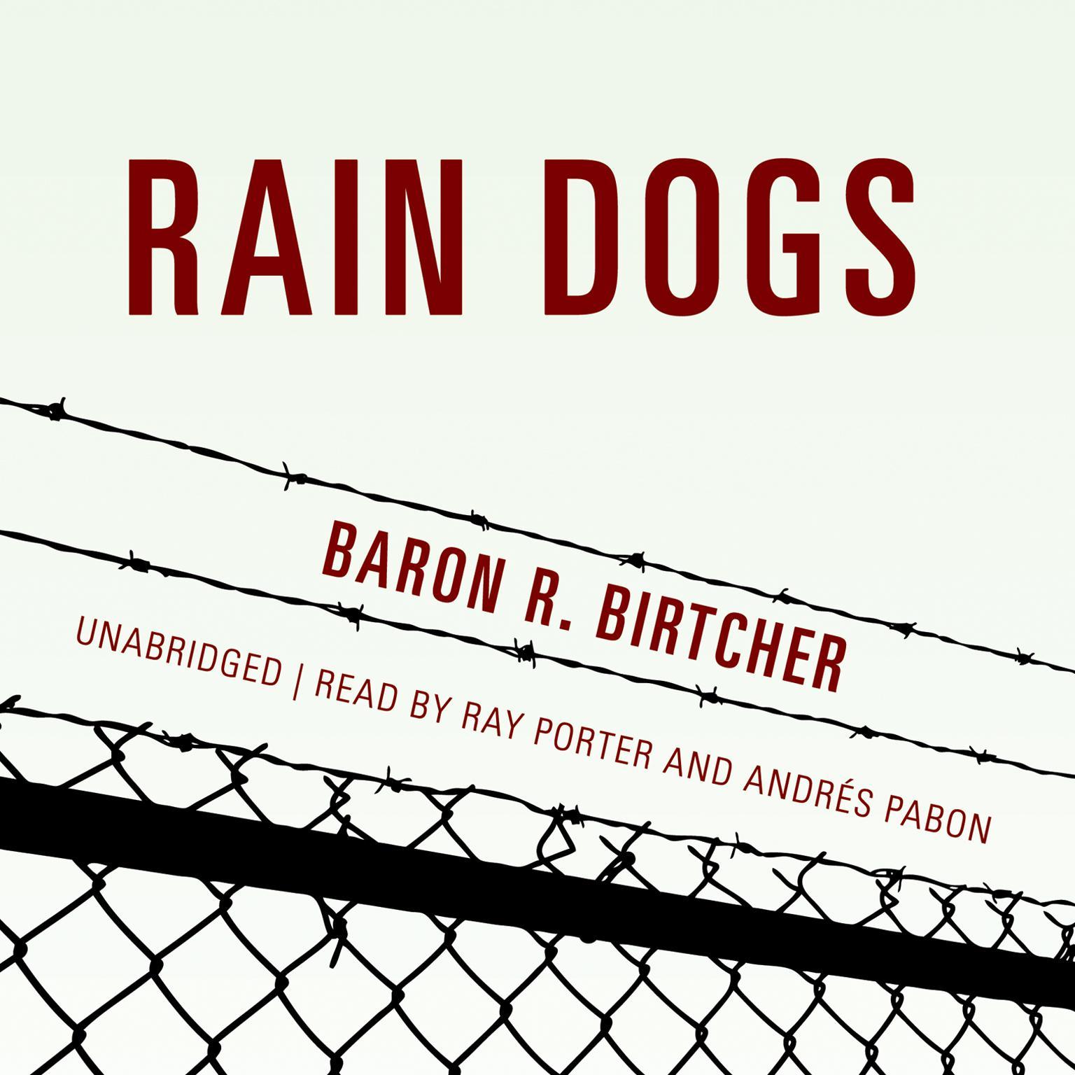 Printable Rain Dogs Audiobook Cover Art