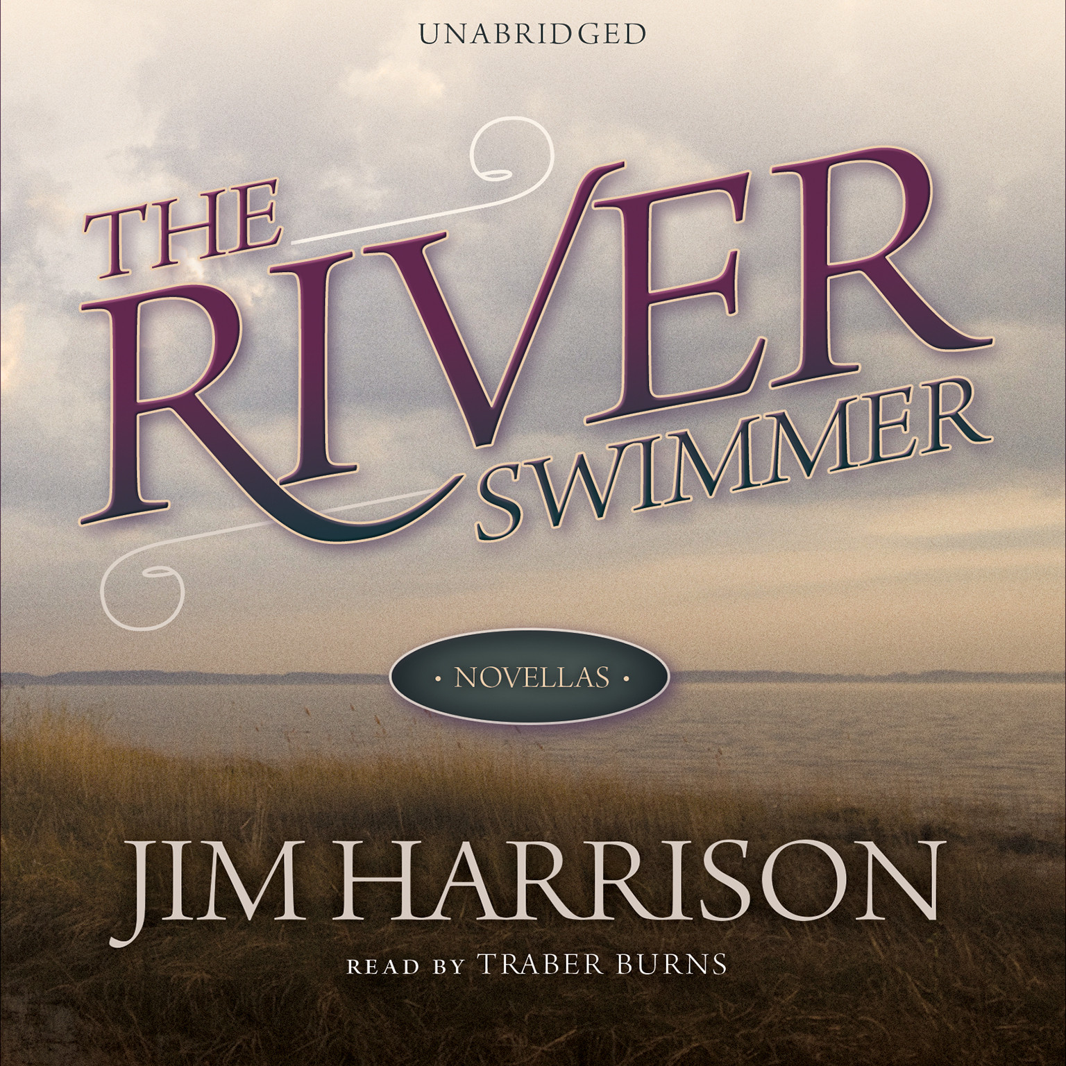 Printable The River Swimmer: Novellas Audiobook Cover Art