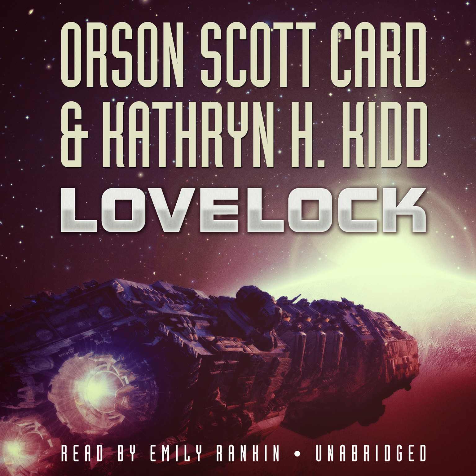 Printable Lovelock Audiobook Cover Art
