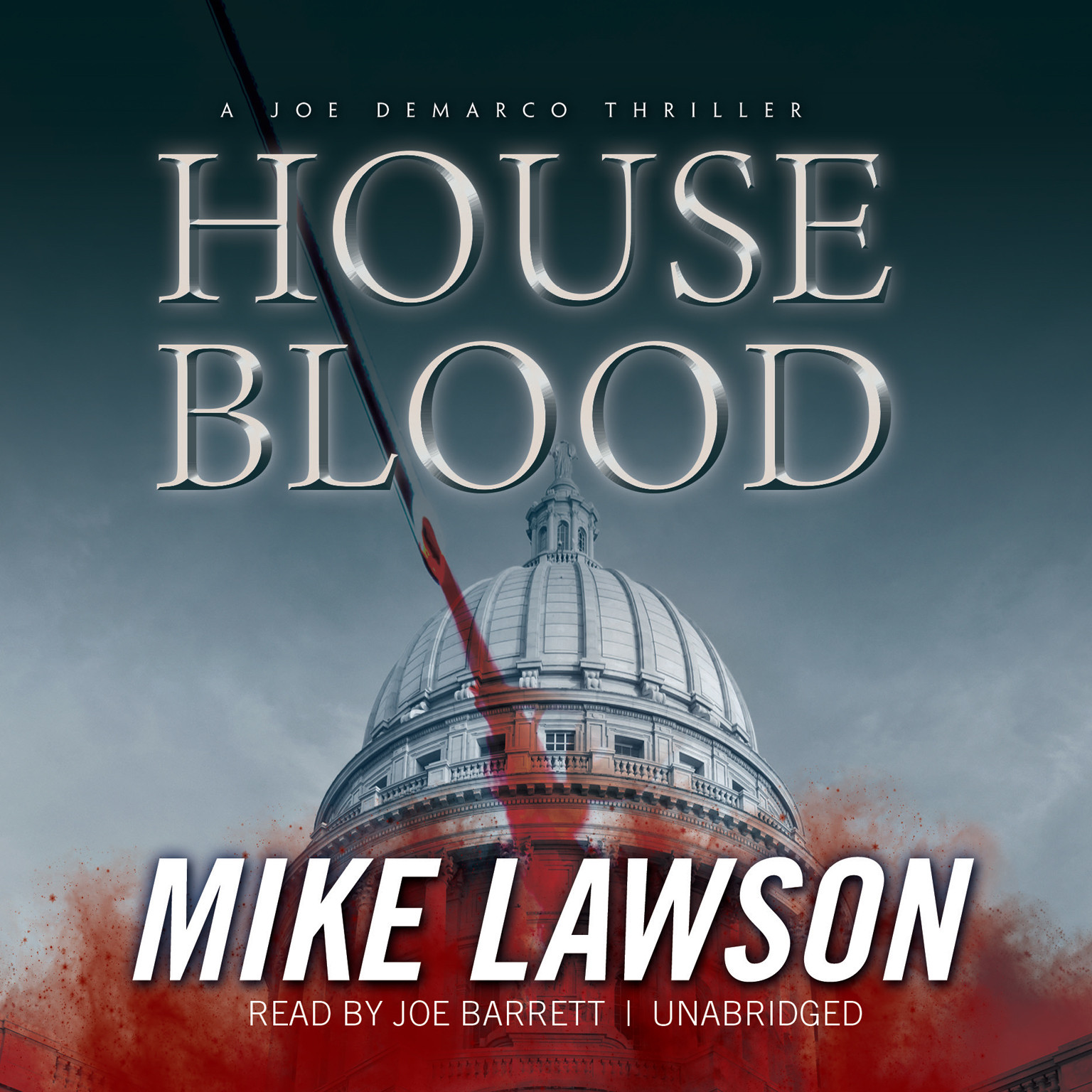 Printable House Blood: A Joe DeMarco Thriller Audiobook Cover Art