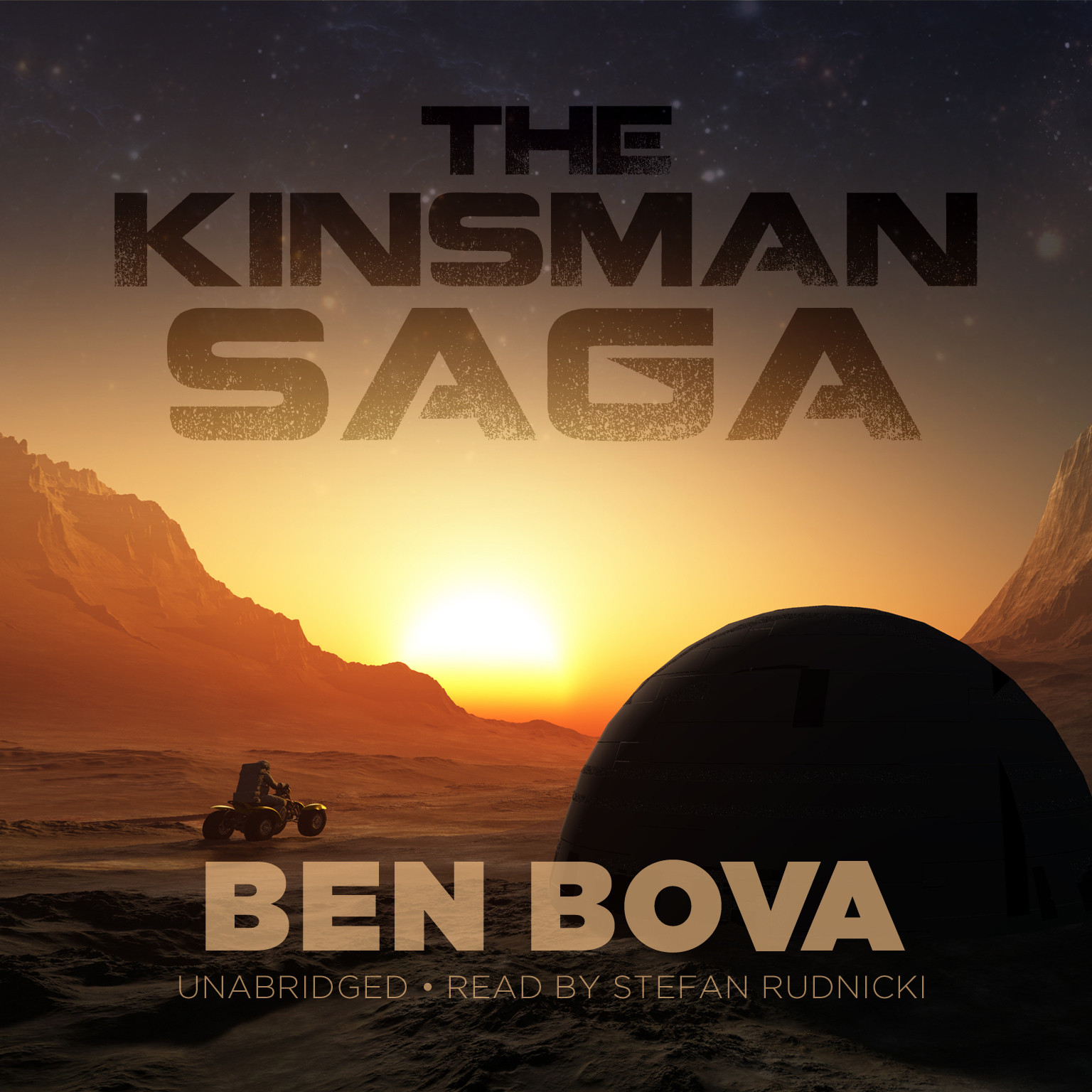 Printable The Kinsman Saga Audiobook Cover Art