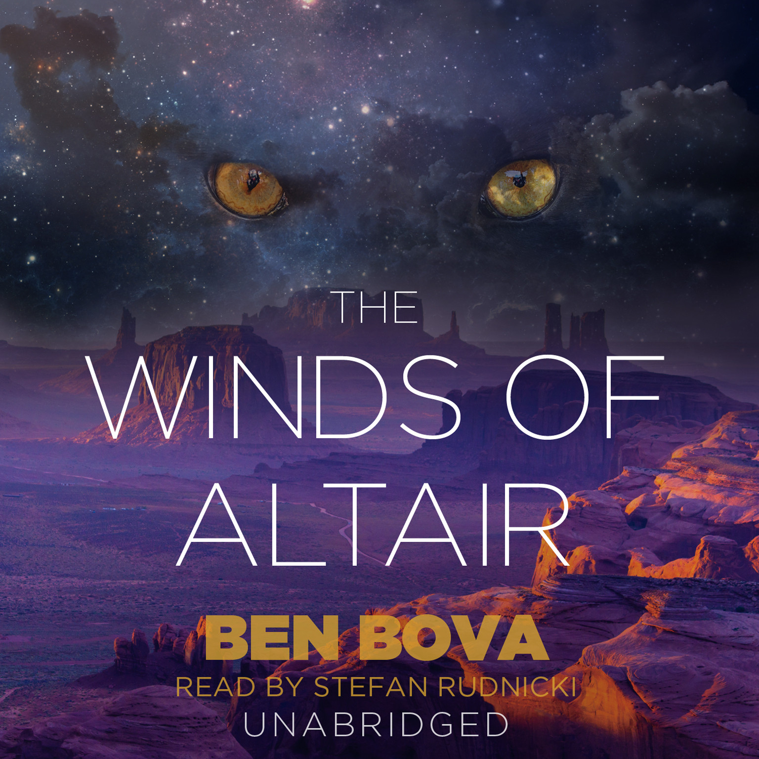 Printable The Winds of Altair Audiobook Cover Art