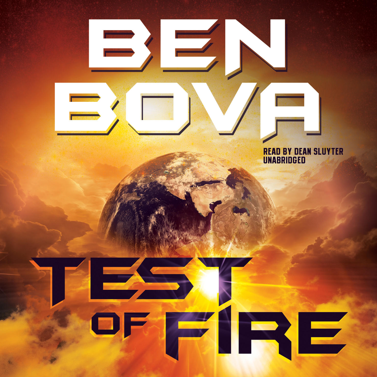 Printable Test of Fire Audiobook Cover Art